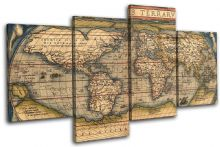 Old World Atlas Latin Maps Flags - 13-2109(00B)-MP04-LO